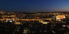 Vue de Liège et de sa périphérie depuis la citadelle, Belgium