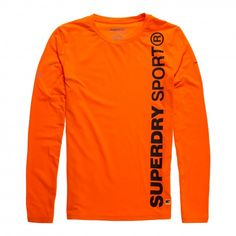 Superdry Gym Sport Runner Top fitness shirt heren