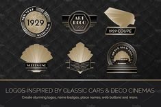 Ad: Art Deco Graphics Bundle by Wing's Art Studio on The ultimate collection of Art Deco design resources. Perfect for creating everything from wedding invites, posters, game assets and much Art Deco Logo, Wedding Table Names, Epic Art, Art Deco Design, Light In The Dark, Design Elements, Creative, Graphics, Art Deco