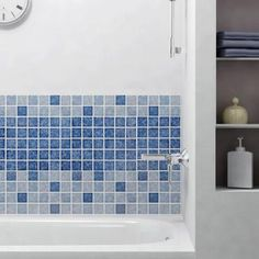 Merola Tile Watersplash Quad Aegean 11-7/8 in. x 11-7/8 in. x 6 mm Porcelain Mosaic Floor and Wall Tile-FYFW2SAG - The Home Depot