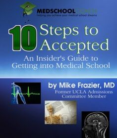 MedSchoolCoach's 10 Steps to Accepted - An Insider's Guide to Getting Into Medical School. This guide will give you so many helpful hints on how to get into medical school from picking schools to impressing admissions committees. Physician Assistant School, Getting Into Medical School, Medical School Interview, My Future Career, Professional Goals, School Info, School Admissions, Interview Preparation, Med Student