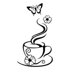 Wood Burning Crafts, Wood Burning Patterns, Wood Burning Art, Coffee Cup Art, Coffee Logo, Art Drawings Sketches, Pyrography, String Art, Doodle Art