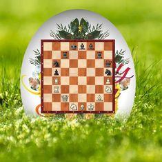 Schach-Osterei 2020 - Chess Easter Egg - Walter Eigenmann - Glarean Magazin Chess, Easter Eggs, Advent Calendar, Holiday Decor, Literature, Music, Gingham