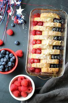 Berries Cream Cheese French Toast | Garden in the Kitchen