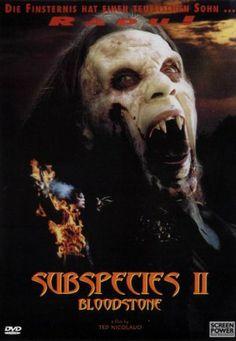 subspecies posters | Bloodstone: Subspecies II ( 1993 )