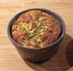 Une recette toute légère et gourmande de soufflés aux courgettes, bien agréable pour une entrée estivale ! Trouvée sur le blog Les ...