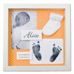 Cute ideas for baby themed keepsake shadow boxes
