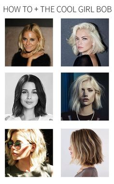 how to + the cool girl bob | Whimsical Charm