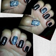 Nails sonrie holographic ;)