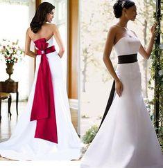 david's bridal wedding dresses (love the sashes) Wedding Dress Sash, Davids Bridal Dresses, Colored Wedding Dresses, Designer Wedding Dresses, Bridal Gowns, Wedding Gowns, Bridesmaid Dresses, Bride Dresses, Party Dresses