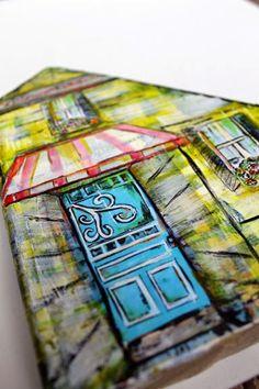 My Art Adventures: Summer Dreams House