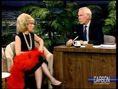 "Joan Rivers and Johnny Carson reminisce about their early careers and she tells hilarious jokes about the Royal Family and Madonna's wedding. Joan Rivers discusses her book ""Enter Talking"". From The Tonight Show Starring Johnny Carson Here's Johnny, Johnny Carson, The Ed Sullivan Show, Interview, Michael Thomas, Tonight Show, Joan Rivers, Jimmy Fallon, Classic Tv"