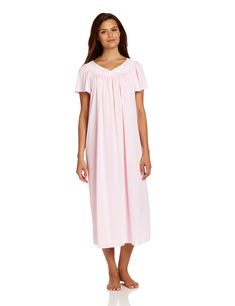b57ef3121d1b Check out our picks for the Miss Elaine Miss Elaine Women's Tricot Long  Flutter-Sleeve Nightgown from the popular stores ...
