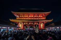 Asakusa Sanja Matsuri 3rd day 14/22 The Ninomiya omikoshi passing under Hozomon gate: there is more space here so the crowd spreads out and you can see how big it is! #Asakusa, #Sanja, #Matsuri, #omikoshi, #Hozomon, #Ninomiya Taken on May 18, 2014. © Grigoris A. Miliaresis