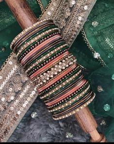 Bridal Chura, Bangles, Bracelets, Diy, Jewelry, Fashion, Moda, Jewlery, Bricolage