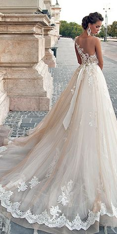 Use it to decorate your life in the most important moment, must be a good… Beautiful back of dress!