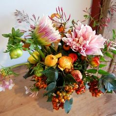 Nice variety of flowers.