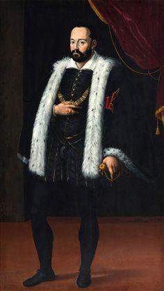 Portrait of Francesco I de Medici by Scipione Pulzone, 1570s (PD-art/old), Zamek Królewski w Warszawie (ZKW)