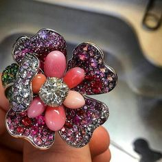 #WANTNEEDDESIRECOVET this exquisite Antique Rose Ring from @dmworkshop in my #virtualjewellerycloset now. Please.