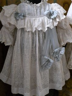 ~~~ Fantastic Three Piece French Pique BeBe Costume ~~~ from whendreamscometrue on Ruby Lane