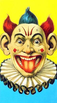 Vintage clown #circus - Carefully selected by GORGONIA www.gorgonia.it