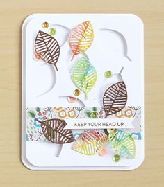 Tutorial - Add Embossing to Craft Die Projects   Lisa Spangler
