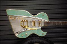 57' Chevy... guitar turqoise