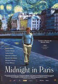 Woody Allen's, 'Midnight in Paris'.