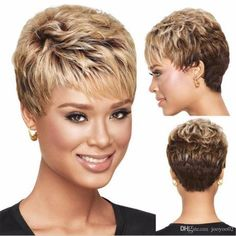 These gorgeous and pretty remy hair, synthetic wig care and short wigs provides here will meet your each requirement for a good xiu zhi mei 6 african american blonde ombre wig with bangs, short hair cuts for curly hair wigs for black women. Really Short Hair, Short Grey Hair, Short Hair With Layers, Short Hair Cuts For Women, Short Hairstyles For Women, Wig Hairstyles, Short Blonde, Celebrity Hairstyles, Super Short Pixie Cuts