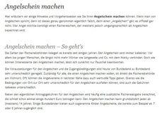 Sie möchten gerne in irgendeinem Gewässer angeln und Fische fangen?  Dazu ist in Deutschland grundsätzlich erstmal ein Angelschein notwendig, sofern es sich nicht um ein privates Gewässer  handelt für das Sie die Erlaubnis des Besitzers haben. www.angelschein.net angelschein.net