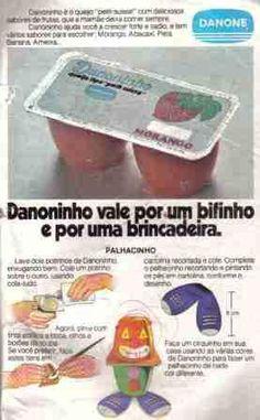Vele por um bifinho!!! [1980] Anúncio da Danoninho