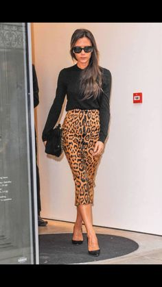 Conservative on the top, adventurous on the bottom. Leopard separates are so fierce!