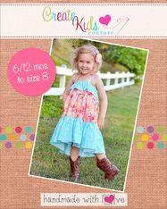 Cora's Tiered Top, Sun Dress and Maxi Dress PDF Pattern