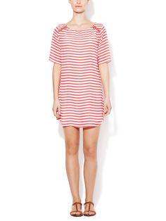 Striped Silk Dress   Ella Moss