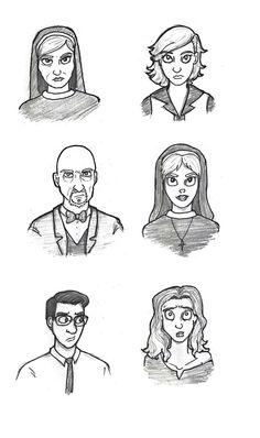 American Horror Story Asylum sketch by EclecticNerd.deviantart.com