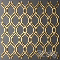 models: Other decorative objects - The panel, grille. Art Deco Wallpaper, Textured Wallpaper, Stainless Steel Sheet Metal, Window Grill Design Modern, Modular Outdoor Kitchens, 3d Wall Tiles, Environmental Graphic Design, Wall Seating, Design Your Dream House