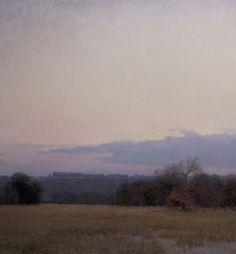 """Winter's Dawn"" oil on linen, 26 x 24 in., 2012 - T Allen Lawson"
