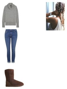 """""""Untitled #219"""" by lipstalker17 on Polyvore featuring Topshop, The Row and UGG Australia"""