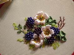 Gallery.ru / Photo # 30 - Embroidered berries in different techniques - kseny-k