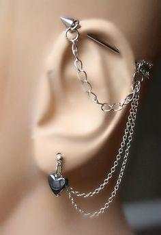 Arrow Industrial Barbell Industrial piercing by triballook