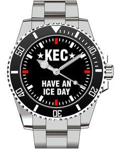 KEC - Have an Ice day - KIESENBERG ® Uhr 2640 von UHR63 auf Etsy