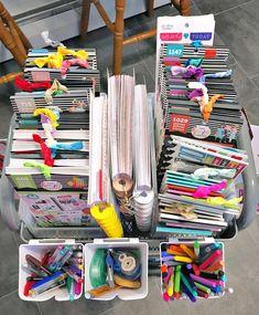 Indiana Inker: Planner Carts - Diy and crafts interests Sticker Storage, Sticker Organization, Planner Organization, Craft Organization, Organizing, Planner Tips, Planner Supplies, Happy Planner, Diy Organizer