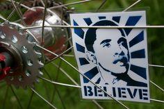 Obama Spoke Art by Dapper Lad Cycles