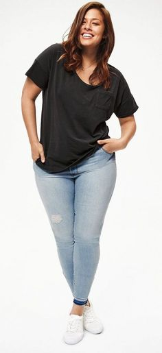 Cute Outfits For Plus Size Women. Graceful Plus Size Fashion Outfit Dresses for Everyday Ideas And Inspiration. Plus Size Refashion. Source by size fashion Casual Curvy Fashion, Curvy Fashion Plus Size, Curvy Girl Fashion, Black Women Fashion, Womens Fashion, Fall Fashion, Fashion Ideas, Fashion Outfits, Ladies Fashion