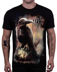 In Flames T-shirt. Sounds of a Playground Fading.   See more about playgrounds.
