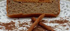 Receita de bolo de canela fácil para a sobremesa ou café da manhã da fase ataque dukan.