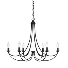 Quoizel Mirren 6 Light Chandelier | Wayfair