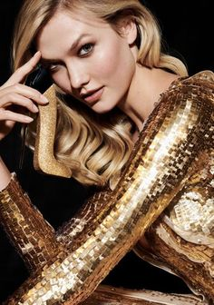 """""""Good Girl radiates with golden ambitions in Our iconic fragrance in a new bottle, Gold Fashion, Holiday Fashion, Fashion Details, Woman In Gold, Golden Goddess, Carolina Herrera, Cool Girl, Diana, Most Beautiful"""