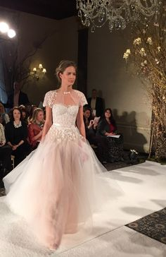 The 5 Dreamiest Wedding Gowns from New York Bridal Fashion Week || Lindsay Kenna || @bridalinstaglam || Mira Zwillinger
