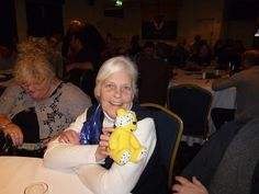 Diane Eggleston supports the Paul Strank Roofing Photothon with Pudsey! #pudseyphotothon  #cin #pudsey